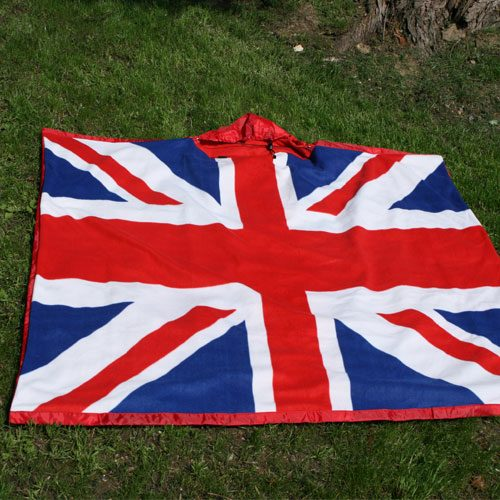 union jack shmangle blanket